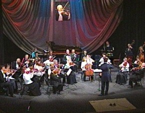 Anniversary evening concert of Four Seasons chamber orchestra named after  Garry Logvin.