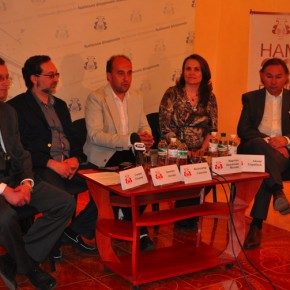The press conference on a occasion of the opening of   VIRTUOSOS, the 30th  International Music Art Festival May 11, 2011 – 14:00