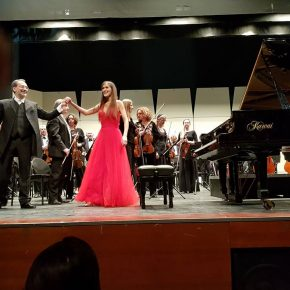 Ms. Dorel Golan - Rachmaninov Piano concerto No.3 together with Maestro Dmitry Logvin and Jerusalem Symphony.